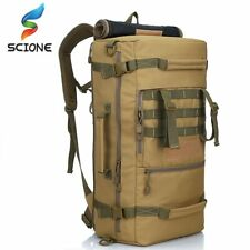 50L Military Tactical Backpack Camping Bag Mountaineering Backpack