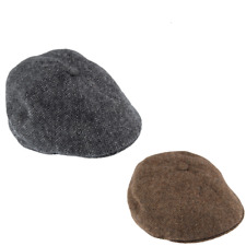 DENTS Men s Drivers Cap Abraham Moon Yorkshire Tweed With Quilted Satin  Lining 0bbc24baa373