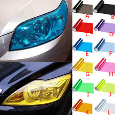 Vinyl Film Sheet Sticker Auto Car Smoke Fog Light Headlight Taillight Tint autoc