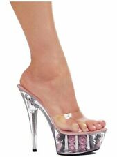 Ellie Shoes E-609-Roses 6 Pointed Stiletto Sandal