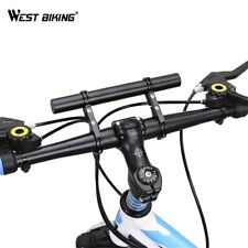 WEST BIKING Double Mountain Bike Handlebar Extender 25.4/31.8MM Expander