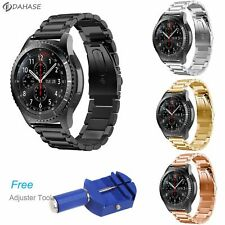 Watch 22mm Stainless Steel Band Samsung Gear S3 Frontier Classic Strap Galaxy 46