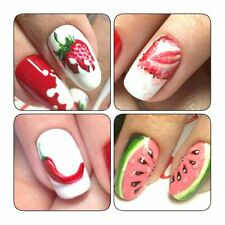 Stickers Nail Art Water Transfer Manicure Decals Diy Summer Colorful New Pattern
