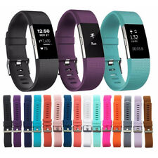 Replacement Strap Wristband Silicone Rubber Band Bracelet For Fitbit CHARGE 2 T