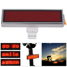 LED USB Rechargeable Bike Tail Light Bicycle Safety Cycling Warning Rear Lamp V1
