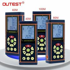 OUTEST Laser Distance Meter Range Finder Laser Tape Measure