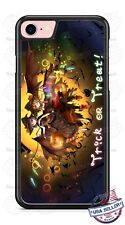 Halloween Trick or Treat Two Witches Phone Case for iPhone Samsung Google etc