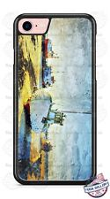 Fishing Boat Vessels Art Design Phone Case for iPhone Samsung LG Google HTC etc.
