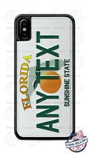 Custom FLORIDA License Plate Phone Case Cover Any Text for iPhone Samsung GIFT