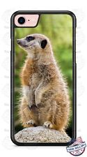 Merrkat Wild Animal on Rock Phone Case for iPhone Samsung LG Google HTC etc