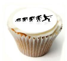 Cricket Birthday Cupcake Toppers x20 Rice Paper or Icing, Personal. 972