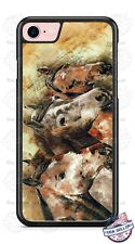 Beautiful Horses Artwork Design Phone Case for iPhone Samsung LG Google HTC etc
