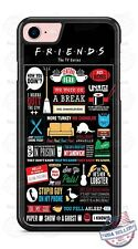 Friends TV show Collage Phone Case Cover fits iPhone Samsung Google LG HTC etc