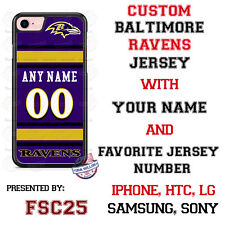 Baltimore Ravens Phone Case Cover for iPhone X 8 PLUS iPhone 7 6 5 ipod 6 etc.