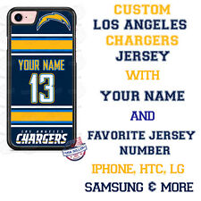 Los Angeles Chargers Phone Case Cover for iPhone X 8 PLUS iPhone 7 6 ipod 6 etc.