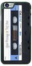 Cassette Tape Sony AHF90 - Your Text Phone Case for iPhone Samsung Google LG etc