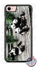 Panda Bears Phone Case fits iPhone X 8 PLUS Samsung 9 Note LG G7 Google HTC etc