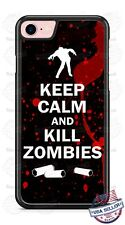 Zombie Keep Calm Halloween Phone Case for iPhone Samsung Google LG HTC etc