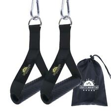 1 Pair Extreme Resistance Bands Ultra Heavy Duty Handles With Durable Carabiner