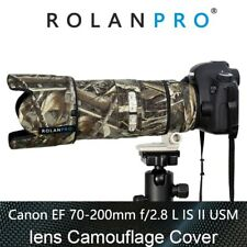 ROLANPRO Lens Camouflage Coat Rain Cover for Canon EF 70-200mm F2.8 L IS II USM