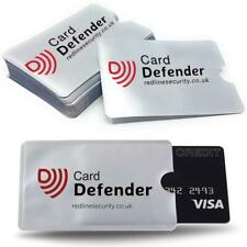 RFID Blocking Sleeves Contactless Cards - Credit Card Protector in Waterproof an
