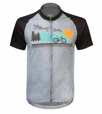 Aero Tech Men's Peloton Jersey - Your Mountain is Calling - Performance cycling