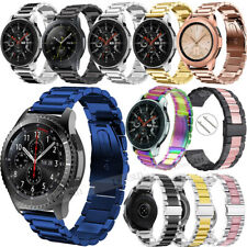 Stainless Steel Metal Watch Band For Samsung Galaxy Watch Active 42/46mm Gear S3