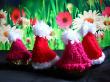610d57dc98c7b Four Hand Knitted Christmas Pudding for Ferrero Rocher Chocolate ...