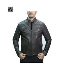Men's Clothing Jacket Leather Look Jacket 15129922 Yellow Mod Other Men's Clothing 15129922