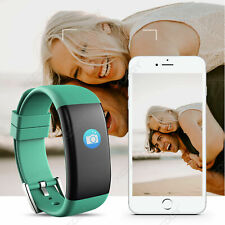 Sports Activity Sleep Fitness Tracker Heart Rate Pedometer Bracelet Smart Watch