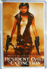 Resident Evil The Final Chapter Extinction Jovovich movie poster Fridge Magnets