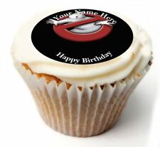 Ghostbusters Birthday Cupcake Toppers; x20 Rice Paper or Icing, Personalised. 50
