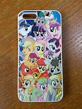 For iPhone iPod Touch Sony Samsung Phone My Little Pony Style Back Hard Case