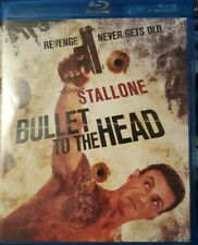 Bullet to the Head (Blu-ray 2013) Stallone VERY GOOD CONDITION