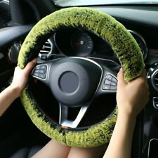 Universal Warm Faux Fur Winter Super Soft Plush Car Steering Wheel Cover