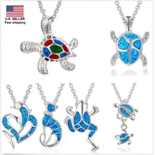 Sea Turtle Dolphin Frog Necklace Pendant Women Lady Charm Fashion Jewelry Gift