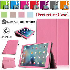 Leather Protective Slim Stand Case Magnetic Flip Cover For Apple iPad Models