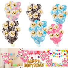 15 PCS Balloons Sets Birthday Party Decorations Confetti Balloons WT88