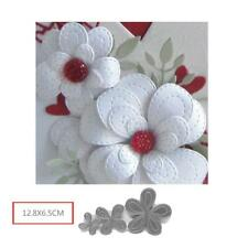 Hollyhocks Flower Metal Cutting Dies New 2019 for Craft Dies Scapbooking Supply