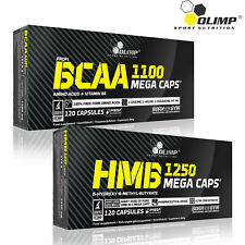 BCAA + HMB Branched Chain Amino Acids Anticatabolic Muscle Growth Bodybuilding
