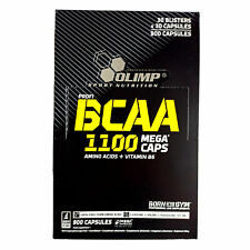BCAA Branched Chain Amino Acids Anabolic Anticatabolic Bodybuilding Capsules