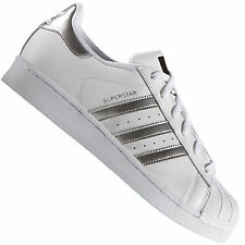 827a6f7b4d602 Adidas Originals Superstar White Silver AQ3091 Men's Trainer Sneakers Shoes