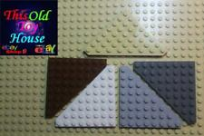 LEGO 30504 CORNER PLATE 45 degree 8X8 CHOICE OF COLOR pre-owned