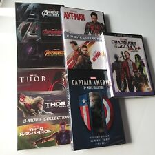 Pick 5 Marvel Lot [DVD box Set] Thor Ant Man Avengers Captain America Guardians