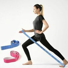 Elastic Stretch Resistance Belt 1m Fitness Yoga Exercise Sports Pull Strap Band