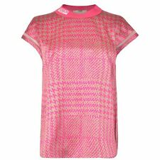 Womens Fendi Pow Silk Sleeveless Pink Blouse Top Size - RRP £880