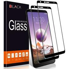 Real 3D Black Tempered Glass Screen Protector Film Full Screen Coverage for LG