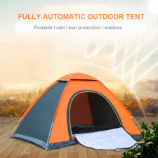 2-3 Man Person Camping PopUp Tent Dome Waterproof Outdoor Shelter Family Travel
