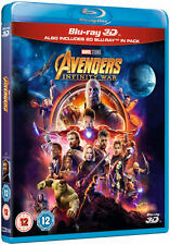 MARVEL Studio 3D (Includes 2D Version) + Blu-ray [Region free] collection