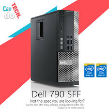 Dell Optiplex SFF Intel Core i5 i7 16GB RAM 2TB HDD SSD Windows 10 Desktop PC
